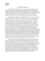 the american scholar essay individualism psychology  the american scholar essay individualism psychology cognitive science