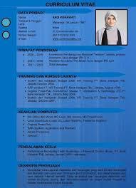 Resume Words To Use Beauteous Contoh CV Kreatif Menarik Baik Resmi Dan Benar Dalam Bentuk
