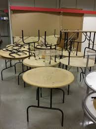 3 ft round folding tables display holiday guests for in phoenix az offerup