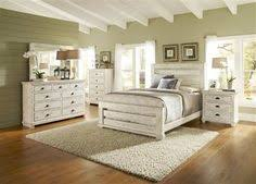 white bedroom furniture king. Progressive Furniture Willow Distressed White 2pc Bedroom Set With King Slat Bed R