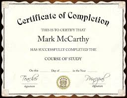 Certificate Template Word Certificate Templates Trakore Document