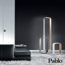 led floor lamp dimmable cordless canada torchiere pablo designs contour lamps reading light for artemide tolomeo lettura standing task mounted