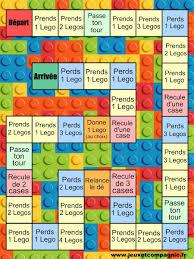 Petit Jeu De Soci T Lego Imprimer