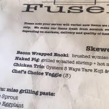 photos for fusebox menu yelp Fuse Box Menu photo of fusebox oakland, ca, united states fuse box manual