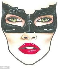 Mac Cosmetics Halloween Face Charts From Cat Woman To Effie Trinkett A Step By Step Guide To
