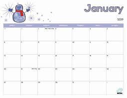Free Clander 2019 Free Printable Calendar For Kids Imom