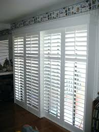 door with built in blinds entry mini patio sliding