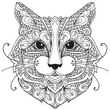 Small Picture sitting cat adult colouring page cat coloring page cat coloring