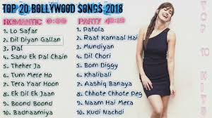 Top 20 Bollywood Songs Of 2018 New Latest Bollywood Songs Jukebox 2018 Re Upload