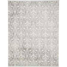 new classical light gray 8 x 10 rug