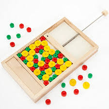 Classic Wooden Board Games Bits and Pieces Mikado Rules Wooden Board GameA Classic wooden 64