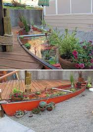 ponds the canoe fish pond 22 small garden or backyard aquarium ideas will your mind