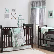nursery bedding impressive teal baby bedding photos inspirations theme geometric crib bedding sets teal baby