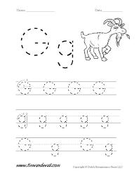 Letter G Worksheets Worksheets For Preschoolers Printable Letter G ...
