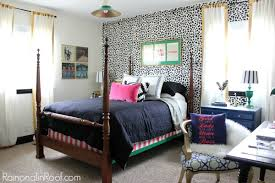 home office in bedroom ideas. Guest Bedroom + Office Reveal {Guest Ideas} Via RainonaTinRoof.com #guestbedroom Home In Ideas