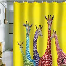 cool shower curtains for kids. Giraffe Shower Curtain Cool Curtains For Kids