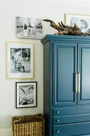 how to decorate furniture. how to decorate around and on top of tall furniture t