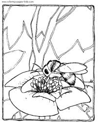 Small Picture Bee Coloring Pages Bees On The Net