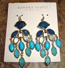 kendra scott gwen chandelier earrings via bluefly com