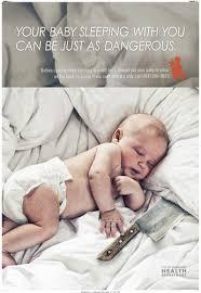 Anti-Co-sleeping Campaign Went Too Far (PHOTOS) | The Stir via Relatably.com