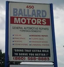 ballard motors closed auto repair 450 main st east hartford ct phone number yelp
