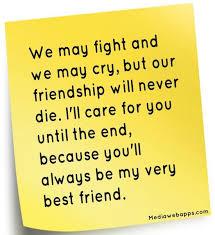 Friendship Fights