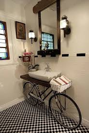 bicycle sink easy diy furniture makeovers and ideas a lot of repurposed thrift