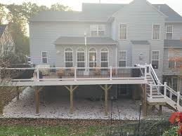 spacious deck in rockville md