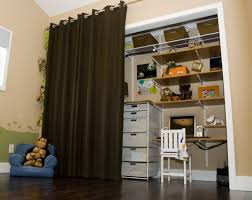 closet door ideas curtain magnificent on interior and curtains as doors for bamboo easy to hang