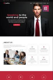 Speaker Templates Website Templates And Motivational Speaker Custom Website