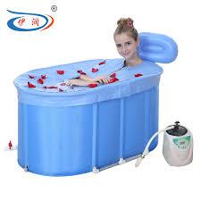 get ations iraqi run sauna bath dual insulation quilted bubble bath barrel bath tub folding bucket bath