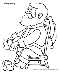 Small Picture Christmas Eve Coloring Pages Santa gets Dressed Christmas