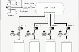 air suspension dual tank air bag suspension diagram petaluma air suspension see a diagram of an 8 valve set up using single port bags