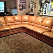 fancy camel leather sofa color couch sectional colored chair