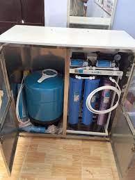 Máy lọc nước RO bán công nghiệp KAROFI KB50 (Tủ inox, 6 cấp lọc) chính hãng  tại ALOBUY Việt Nam