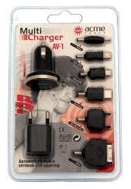 Зарядное уcтройство сетевое(220В)/автомобильное 12В для ...