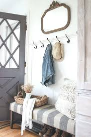 Antique Hall Coat Rack Entryway Bench With Storage And Coat Rack Best Mirror Hooks Ideas On 94
