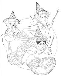 18 10 Tranh tô màu công chúa ngủ trong rừng ý tưởng | công chúa, rừng, phim  hoạt hình