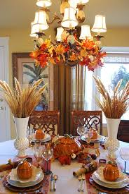 fall table table setting