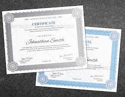Professional Certificates Templates 35 Best Certificate Template Designs Web Graphic Design Bashooka