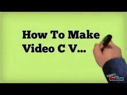 Video Resume Tips Video Cv Video Resume Maker Video Resume Tips Jobtardis In