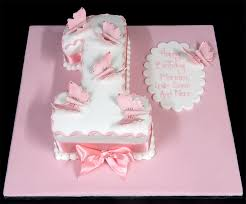 6 Girls 1st Birthday Party Cakes Photo Pink 1st Birthday Cake