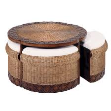 Shop furniture, lighting, storage & more! Round Coffee Table With Stools Ideas On Foter