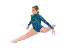 floor gymnastics splits. Download Gymnast Split Stock Photo. Image Of Flexibility, Caucasian -  5859980 Floor Gymnastics Splits
