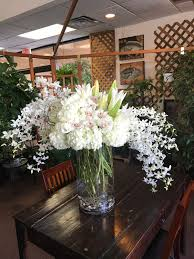 the other lopez a mix of hydrangea orchids lilies