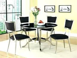 modern round dining table for 4 fine round dining room tables for 4 modern round dining