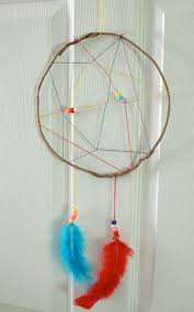 How To Make A Simple Dream Catcher Rainbow Dream Catcher Craft Summer Camp Crafts and Lessons for 66