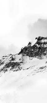 nl04-mountain-white-snow-winter-minimal ...