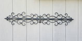 wrought iron wall art metal wall art