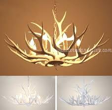 8 whitetail deer antler chandelier pure white eight candelabra ceiling lights hanging lighting australia e pure white mule deer 6 cast antler chandelier